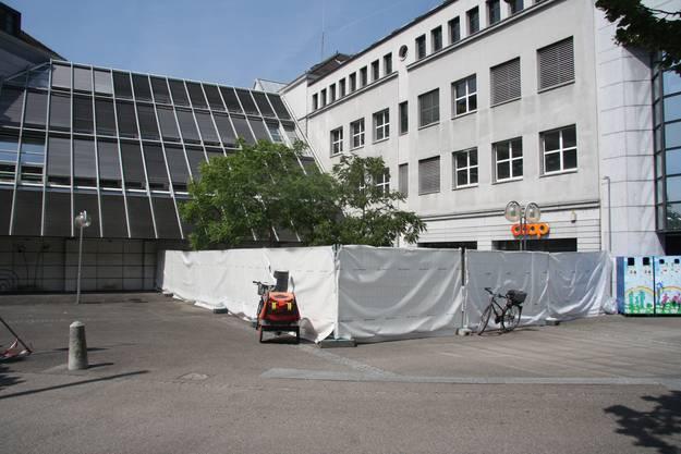 Der künftige Bauplatz
