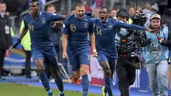 Frankreich schafft die Wende und fährt nach Brasilien