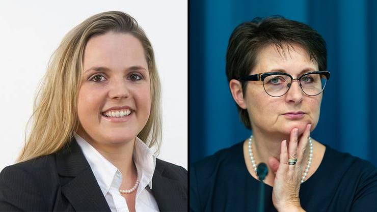 SVP-Grossrätin Martina Bircher fordert Handlung von Parteikollegin Franziska Roth wegen ausländischen Sozialhilfeempfänger.