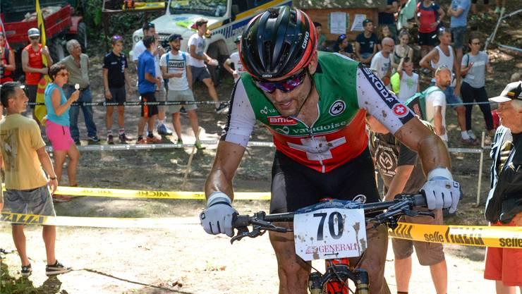 Nach der Radquer-Schweizer-Meisterschaft wird Reto Indergand Ende Januar wieder aufs Mountainbike wechseln. ZVG
