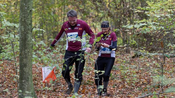 Bloss nicht die Orientierung verlieren: Im Dickicht werden die Läuferinnen und Läufer mit Dutzenden von Wegen und Auswahlmöglichkeiten konfrontiert.