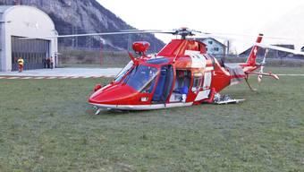 Bruchlandung von Rega-Heli in Erstfeld fordert drei Verletzte