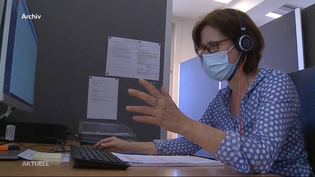 Contact Tracing im Aargau gerät an seine Grenzen
