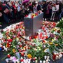 Eine Trauerfeier in Halle.