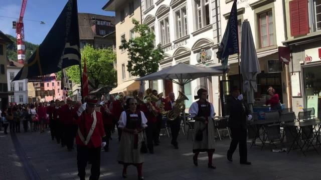 Die Prozession am Fronleichnamstag