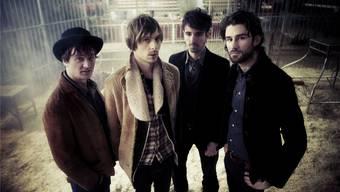 Bandleader Jari Altermatt (zweiter von links) ist das Genie der Band – ihm ordnen sich alle unter.