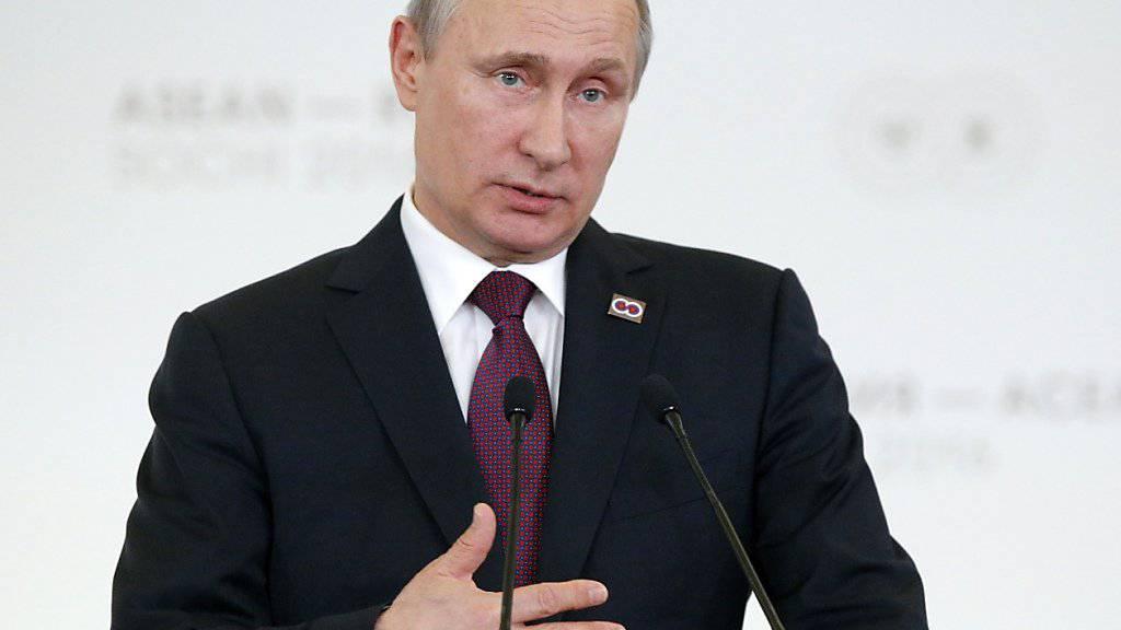 Wladimir Putin gesteht Mängel im russischen Anti-Doping-System ein