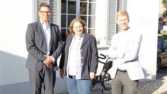 Sie vertreten die FDP im Kantonsrat: André Müller (Uitikon), Bea Krebs (Schlieren) und Andreas Geistlich (Schlieren).