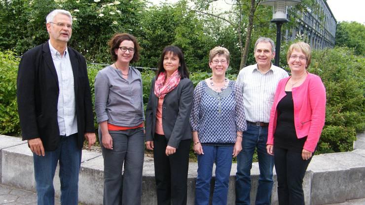 Ein Bild zum Abschied (v.l.): Rainer Mattern (Präsident), Irene Welte (Team-Leiterin), Therese Schenk, Verena Brunner (Verwalterin), Dieter Kunzelmann (Aktuar) und Martina Bieli  (Vice - Präsidentin).