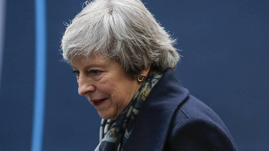 Grosse Kritik in der eigenen Regierung: die britische Premierministerin Theresa May stösst mit ihrem Brexit-Deal auf Widerstand. (Archivbild)
