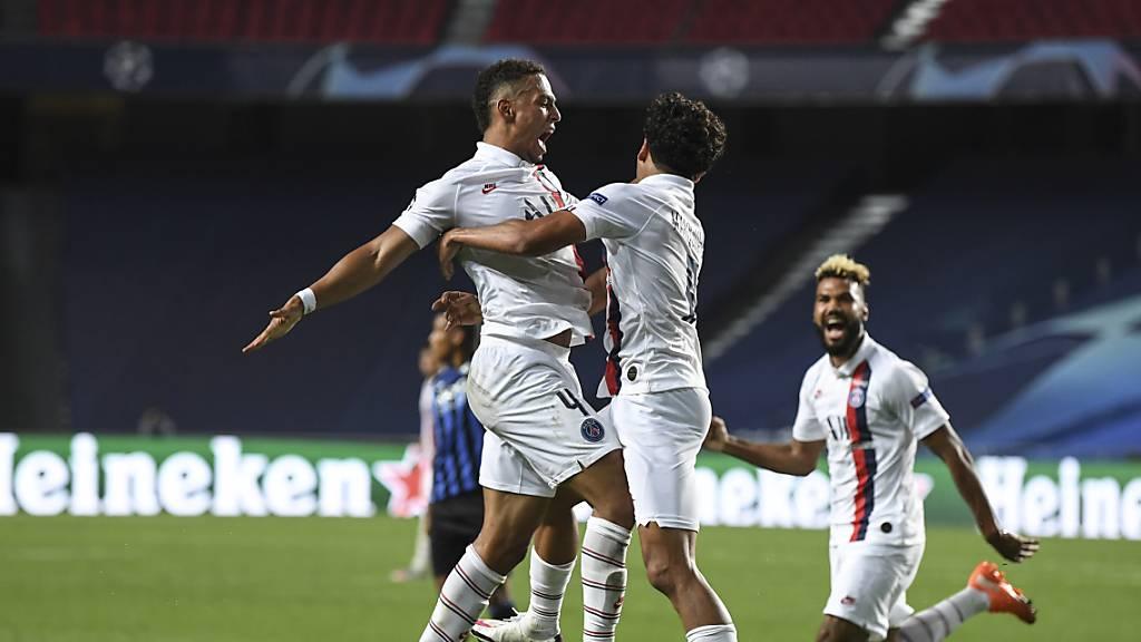 Paris Saint-Germain wirft Atalanta in letzten Minuten raus