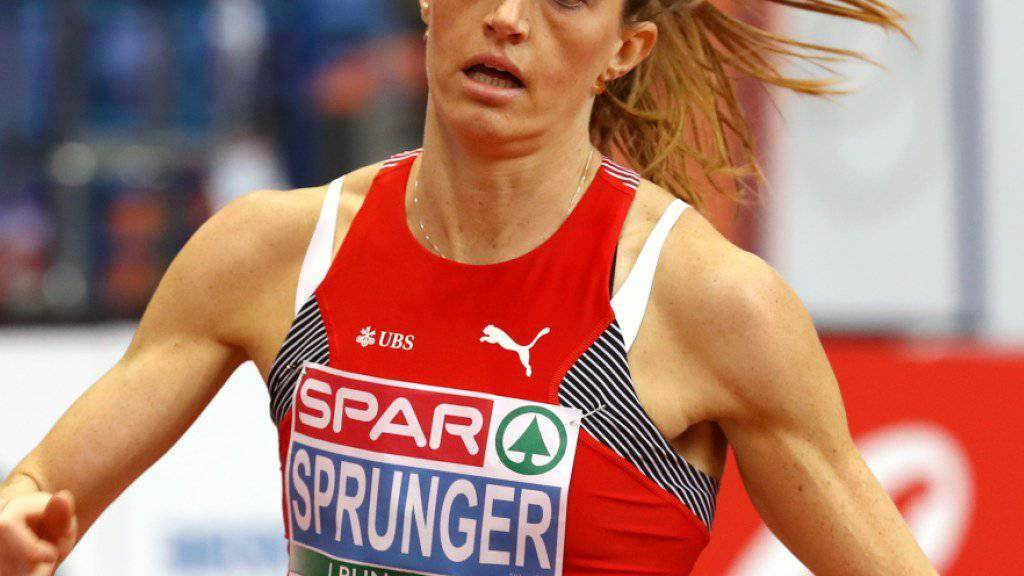 Verpasste die angestrebte Medaille in Belgrad über 400 m deutlich: Lea Sprunger