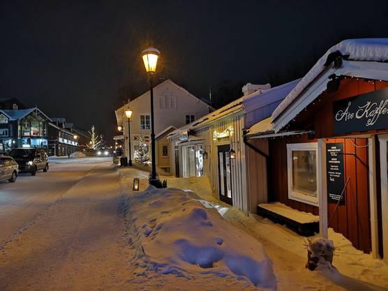 Romantische Stimmung in Åre