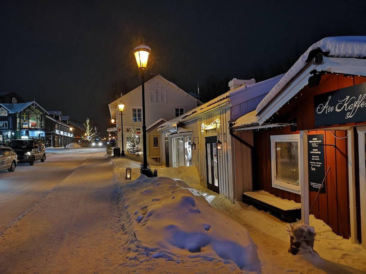 Romantische Stimmung in Åre (© Radio 24)