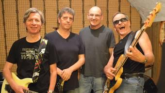 Die Band NH3 (von links): Paul Fischer, Peter Meyer, Roger Rey und Hanspeter Huber. zvg