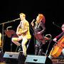 Carolin Fortenbacher und Band sorgten für den Sternschnuppenauftakt.
