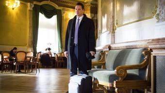 Nationalrat Christian Imark hat seinen ersten Tag im Bundeshaus