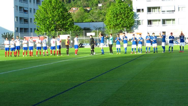 Rechts FC Frenkendorf    links FC Gelterkinden