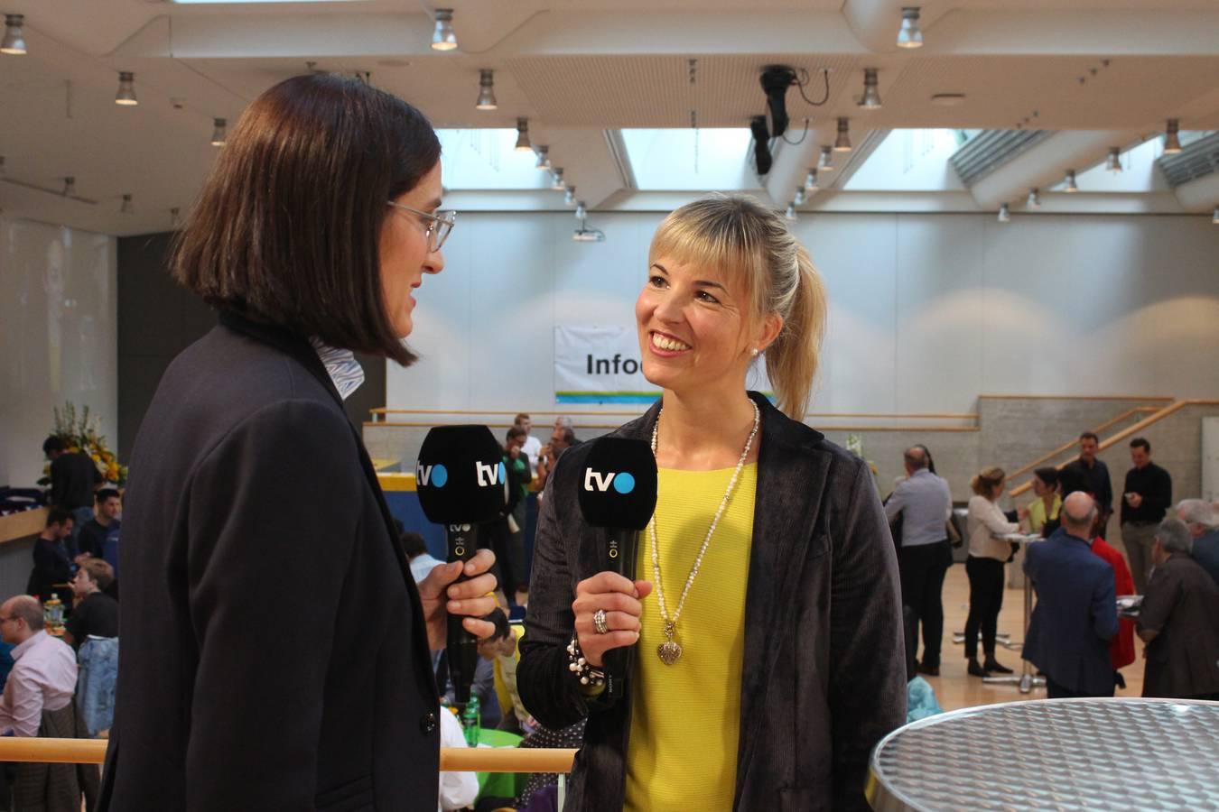 Auch Diana Gutjahr hat dank ihrer Wiederwahl Grund zur Freude (© FM1Today/Fabienne Engbers)