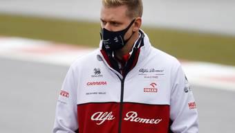 Das Wetter spielte nicht mit. Mick Schumacher musste auf seinen ersten Einsatz an einem Grand-Prix-Wochenende verzichten