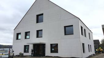 Das neue Gemeindehaus in Fischbach-Göslikon. Archiv