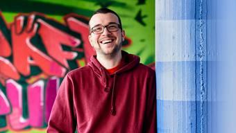 Jugendarbeiter Thomas Luginbühl organisiert die Freiwilligenaktion in Urdorf mit.
