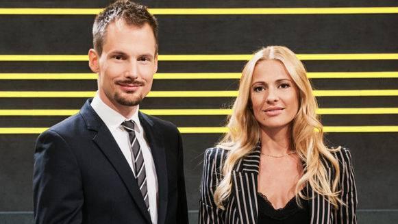Gehen künftig getrennte Wege – Jonas Projer und Christa Rigozzi.