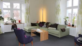 Im Schönauerhof wurden auch neue Aufenthaltsräume eingerichtet. zvg