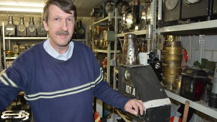 Dank seiner Passion für Technik hat der Dietiker Michael Maier eine beeindruckende private Sammlung aufgebaut