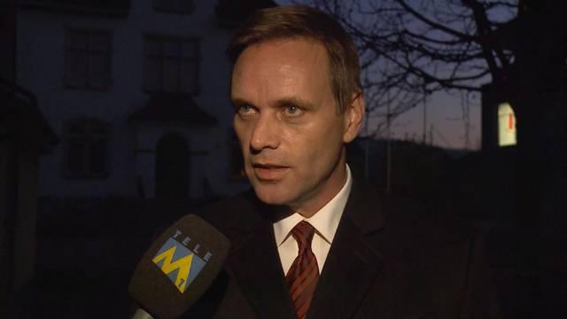 «Ich bin froh»: Jean-Pierre Gallati, SVP-Einwohnerrat Wohlen.