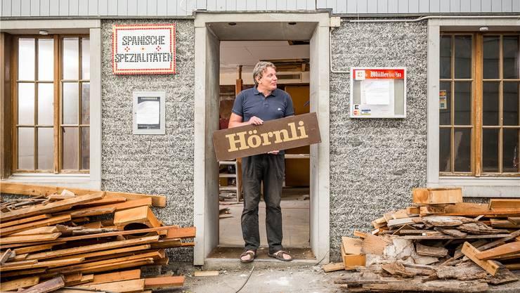 Seit 1993 betreibt der gebürtige Spanier Antonio Vasquez das «Hörnli» im Bäderquartier.