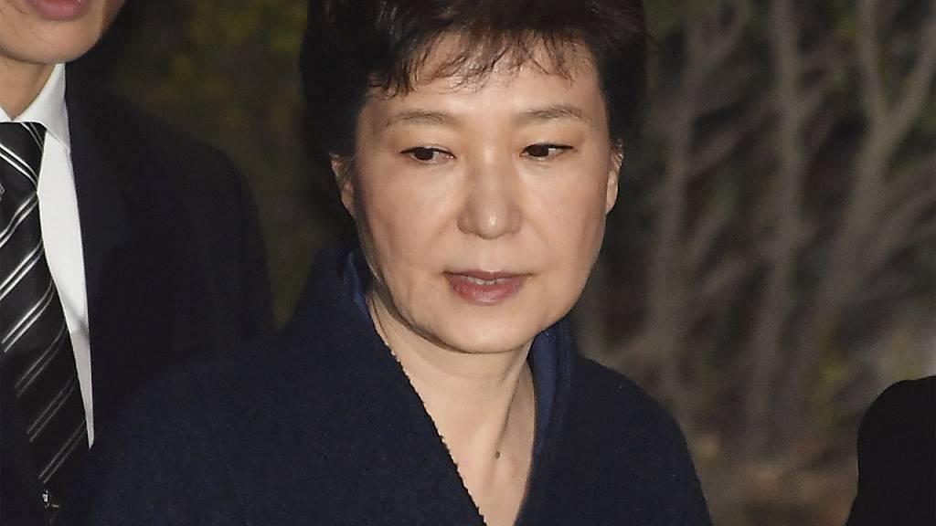 Südkoreas Ex-Präsidentin Park zu 20 Jahren Haft verurteilt