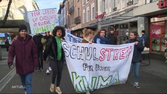 Schüler streiken für Klima