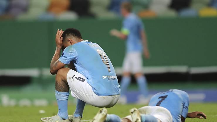 Wieder nichts: Manchester City scheitert in der Champions League erneut in den Viertelfinals