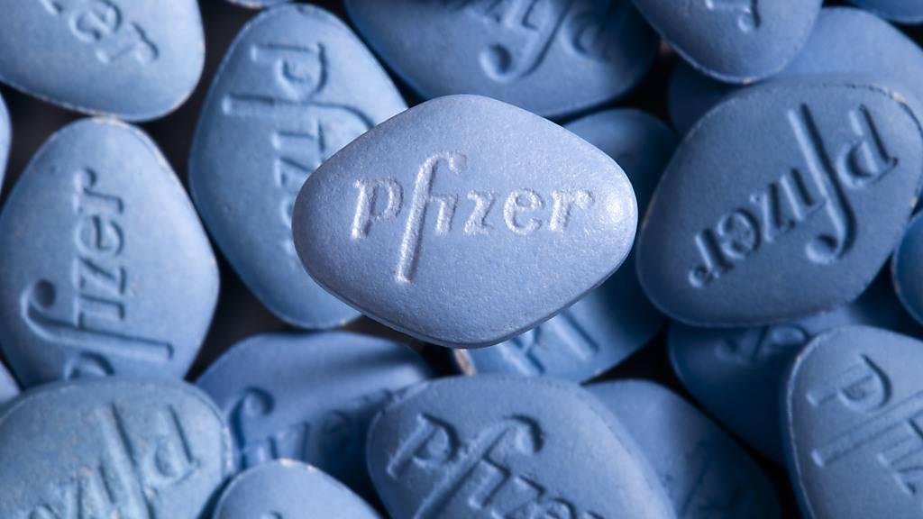 Sildenafil erlangte als Wirkstoff in dem vom US-Unternehmen Pfizer unter dem Namen Viagra auf den Markt gebrachten Arzneimittel gegen Erektionsstörungen Bekanntheit. (Symbolbild)