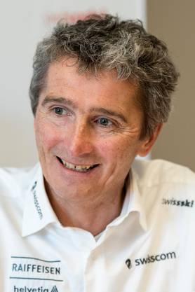Hippolyt Kempf, Disziplinenchef Langlauf von Swiss Ski.