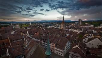 Zwölf Aargauer Altstädte – im Bild Aarau – wollen ihre Stärken und Einzigartigkeiten vernetzen.