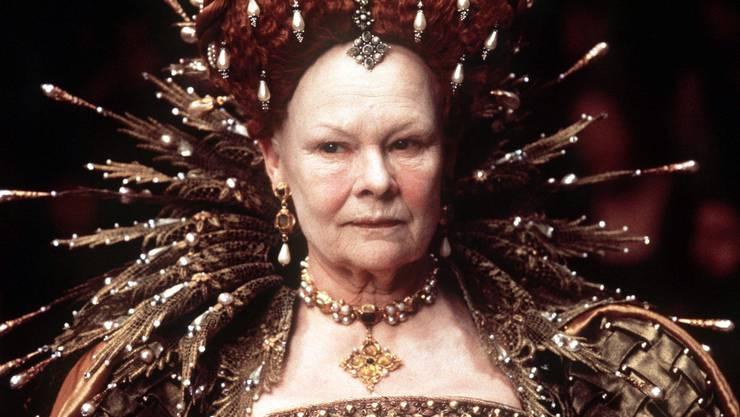 8 Minuten reichten für einen Oscar: Judi Dench als Königin Elisabeth in «Shakespeare in Love».