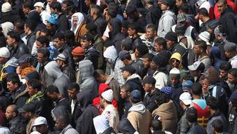 Flüchtlinge in Lampedusa