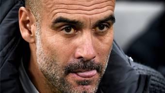 Taktikfuchs Pep Guardiola: Immer versuchte er das Besondere, wich von Bewährtem ab und wollte «zu schlau» sein – auch heute Abend gegen Tottenham?