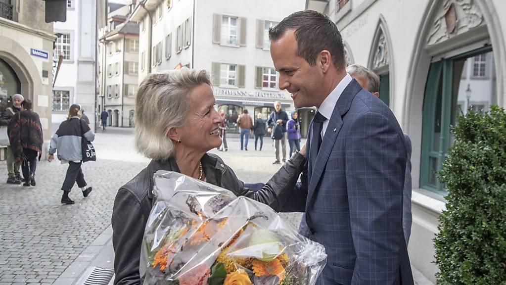 Zieht mit Damian Müller (FDP) in den Ständerat ein: Andrea Gmür (CVP) wurde in stiller Wahl gewählt. (Archivbild)