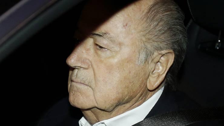 Trotz reduzierter Sperre nicht zufrieden: Sepp Blatter