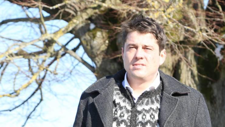 Andreas Tscheulin: Vor 41 Tagen hat der 36-Jährige seine Petition «Nein zum Atomendlager im Nordaargau» lanciert.