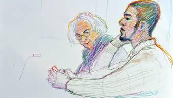 Wieder müssen «Carlos» und sein Verteidiger Marcel Bosonnet vor Gericht antreten.