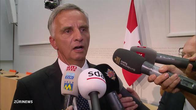 Bundesrat Didier Burkhalter tritt zurück