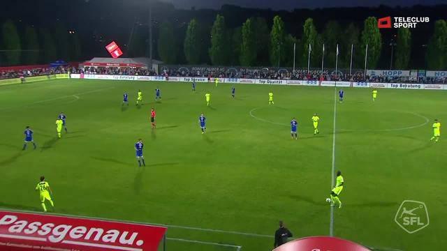 Challenge League, 2017/18, 32. Runde, FC Wohlen - FC Aarau, 0:1 Gianluca Frontino