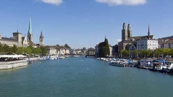 Blick auf die Stadt Zürich (Archiv)