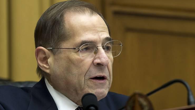 Der Justizausschuss im US-Repräsentantenhaus will Ermittlungen zu Machtmissbrauch und Korruption einleiten. Das sagte der Vorsitzende des Ausschusses Jerrold Nadler am Sonntag.  (Archivbild)