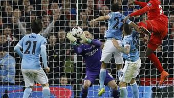 Matchwinner beim vierten Ligacup-Sieg von Manchester City: Goalie Willy Caballero