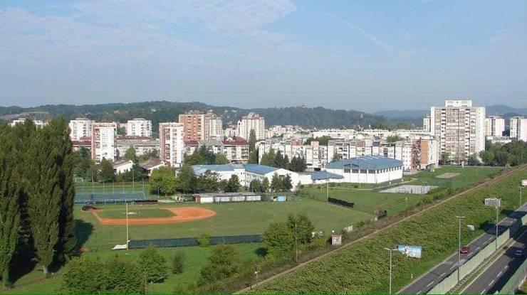 Baseball Feld in Karlovac Kroatien